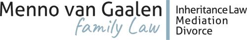 Menno van Gaalen   Family Law Logo