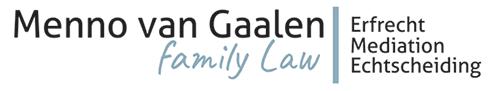Menno van Gaalen | Family Law Logo